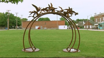 2nd year for outdoor sculpture exhibit in Fostoria