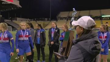 Liberty-Benton girls soccer falls in state championship