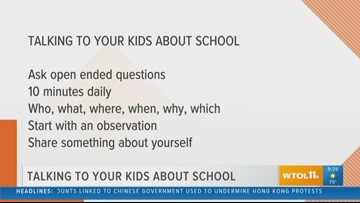 Dr. Victoria Kelly: How to talk to your kids about school