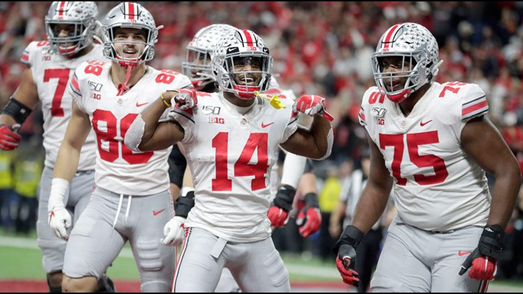 Ohio State finishes as No. 2 in College Football Playoff rankings; will face Clemson in semifinal