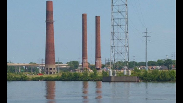 Implosion to shorten remaining smokestack scheduled for Friday