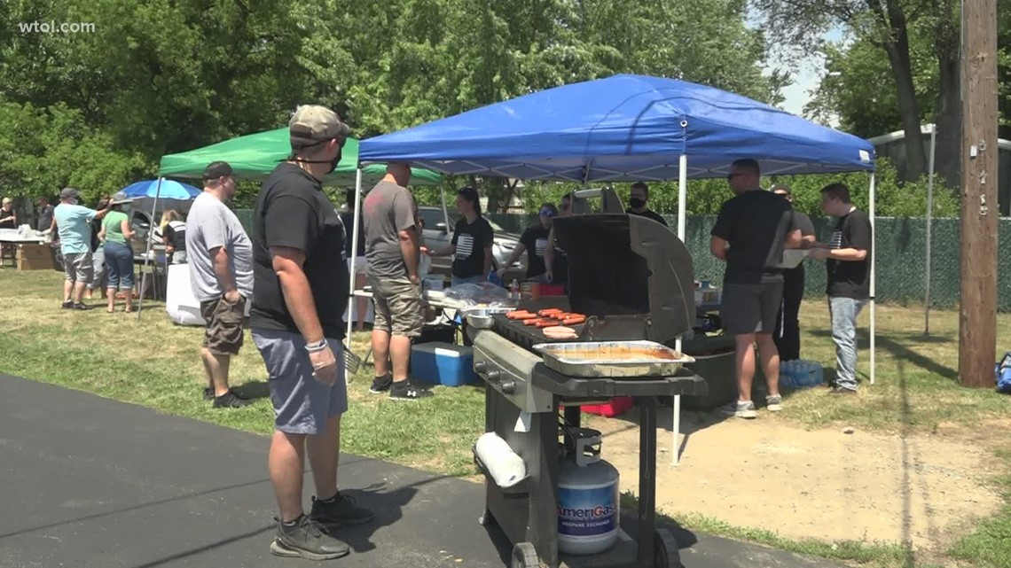 Former coworkers, family hold cookout fundraiser in honor of Officer Anthony Dia