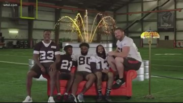 Cleveland Browns give us hilarious 'Friends' mashup we didn't know we needed