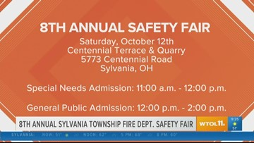 Sylvania Twp. hosts 8th annual 'Fire Department Safety Fair'