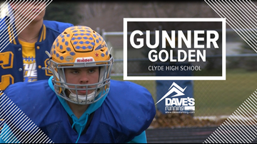 Clyde's Gunner Golden: Athlete of the Week