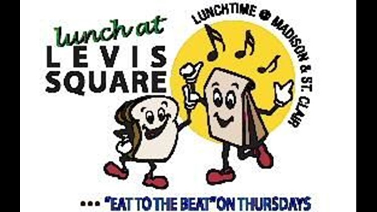 Lunch at Levis Square concerts kick off today