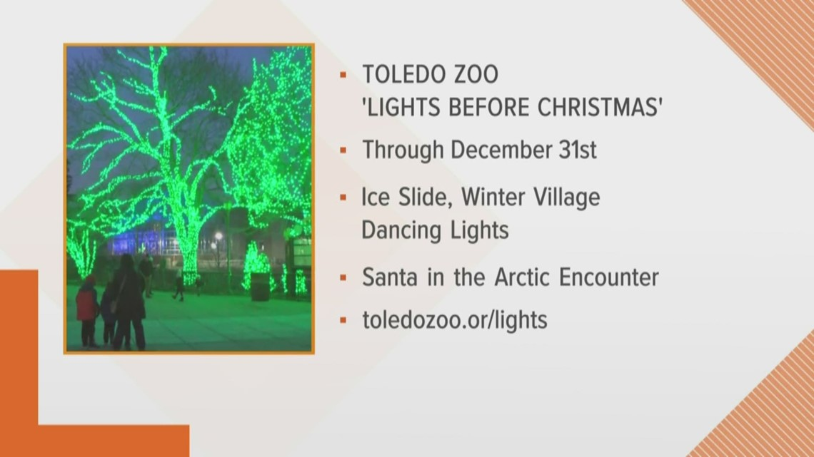Hop over to the Toledo Zoo for holiday events happening all month long