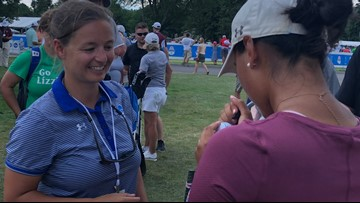 Local golfer Lizzie Win finishes -1 in opening round of Marathon Classic