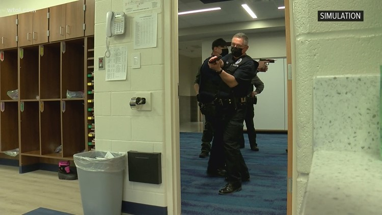 'We have to constantly evolve' | Whitehouse police train for active shooter scenario
