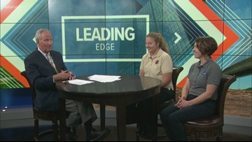 June 16: Leading Edge with Jerry Anderson - Guests Kari Gerwin and Christina Kuchle