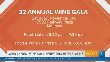 Annual Wine Gala benefiting Mobile Meals back for its 32nd year