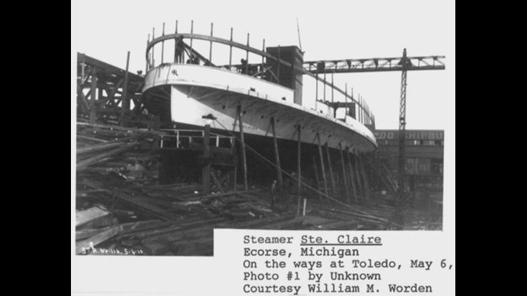 Historic Boblo Island boat destroyed by fire had Toledo connection