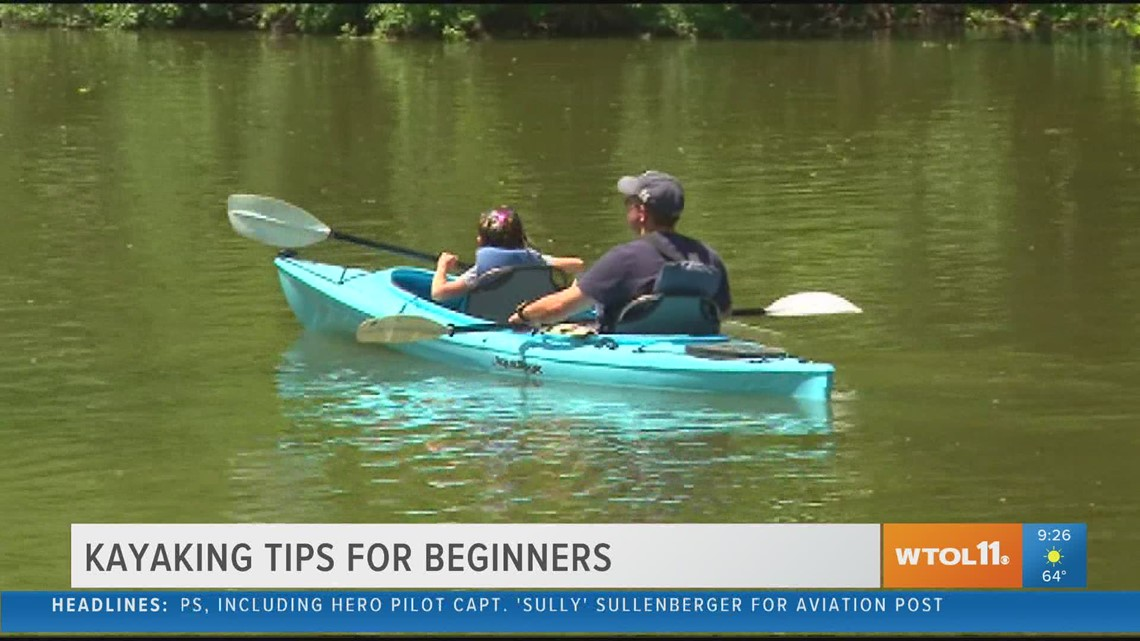 Learn how to kayak with Maumee Tackle Fishing and Kayaking Outfitters