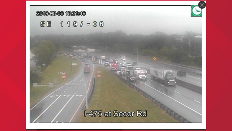 FIRST ALERT TRAFFIC: Rollover accident on I-475 W | wtol com