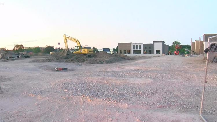 French Quarter Square taking shape in Perrysburg Township