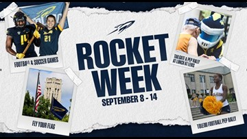 'Rocket Week' to kick off with mayoral proclamation, raising of Toledo Rockets flag at One Government Center