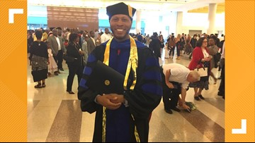 Toledo native with a criminal record goes on to find success, earns PhD