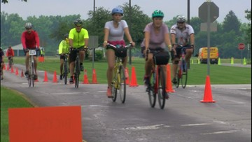 Great Ohio Bicycle  Adventure peddles its way through the area