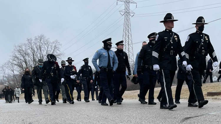 Team coverage: Ofc. Stalker honored by departments across Ohio, Mich. as community mourns together