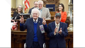 Lenawee County WWII veteran honored at Michigan state Capitol