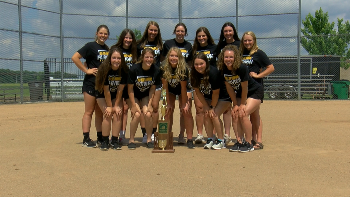 Fairview softball riding high after winning the D-III state championship