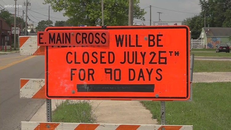 Major Findlay intersection closing for 90 days