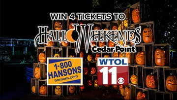Win Halloweekends Tickets from WTOL 11 and 1-800-Hansons