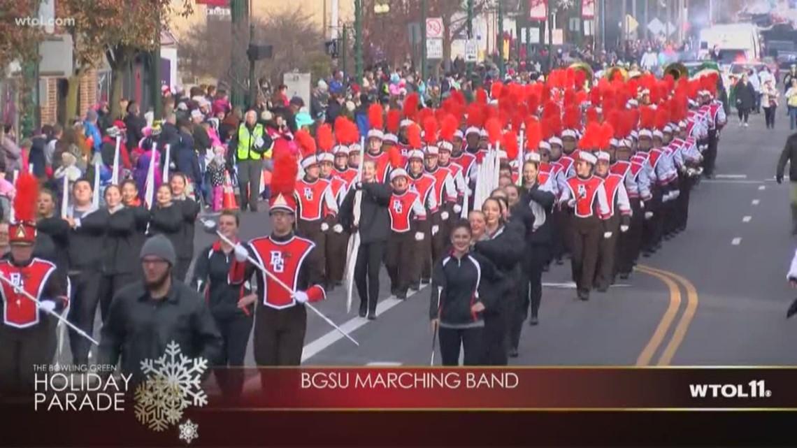 Bowling Green Ohio Christmas Parade 2020 Bowling Green Holiday Parade   BGSU marching band | wtol.com