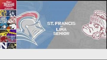 Charlie's Dodge Chrysler Jeep Ram Big Board Friday: St. Francis vs. Lima Senior