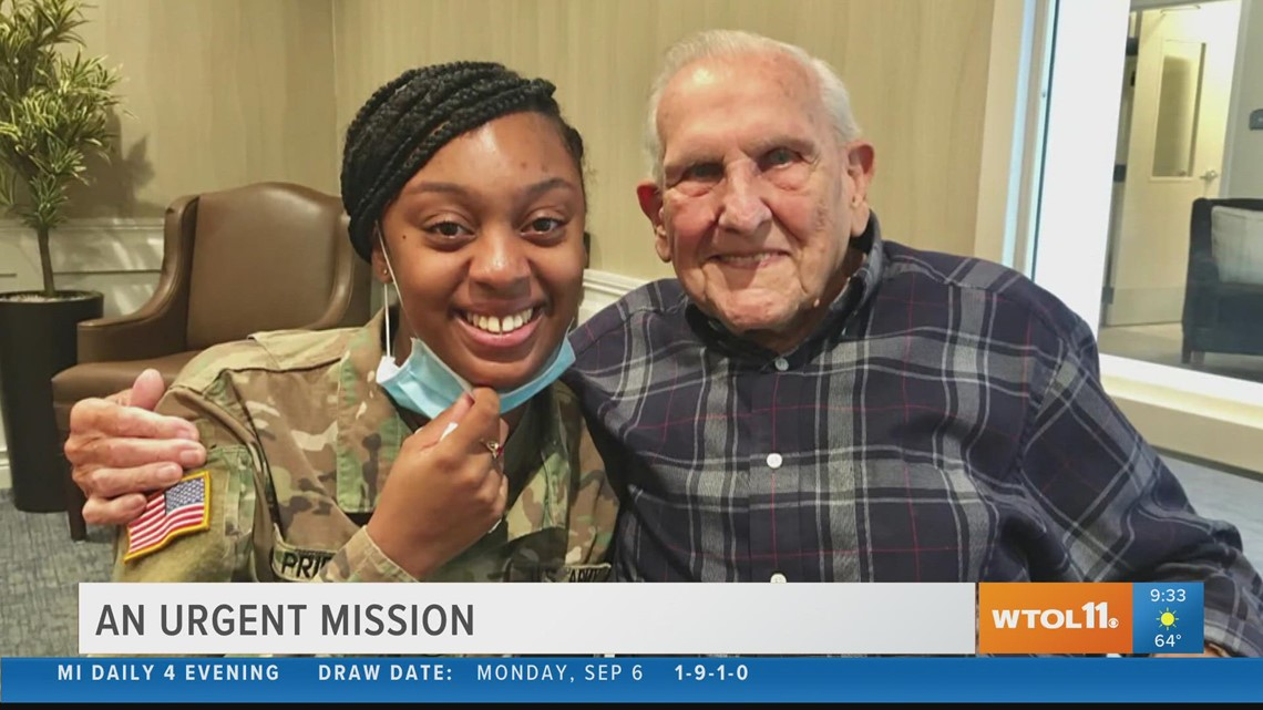 Reason to Smile: Little girl writes thank-you note to Ohio vet, years later they find each other and become friends