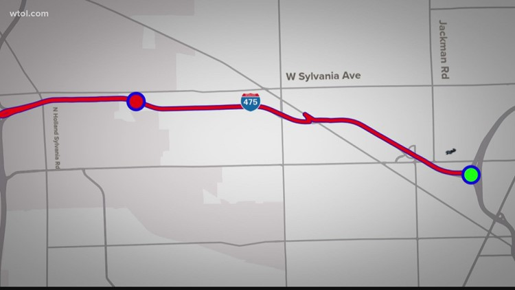 WB I-475 back open after closing this weekend for bridge repairs