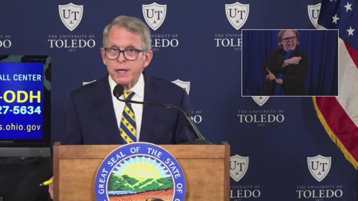 'We have hope, and the hope is the vaccine' | DeWine says COVID-19 vaccine is the key to a good spring, summer