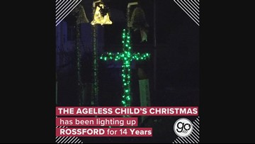 """""""The Ageless Child's Christmas"""" has been lighting up Rossford for 14 years"""