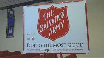 The Salvation Army gets ready to kickoff their Red Kettle Campaign with their annual 5K race