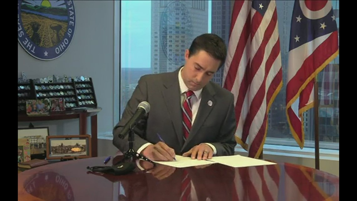 Ohio Secretary of State Frank LaRose certifies record-setting 2020 general election results
