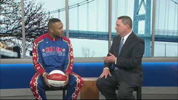 Watch the Harlem Globetrotters when they come to town Dec. 30th