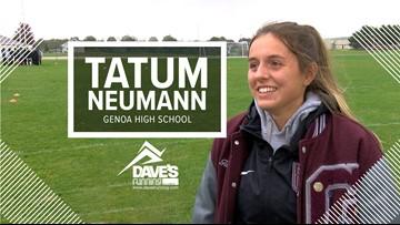 Genoa's Tatum Neumann: Athlete of the Week