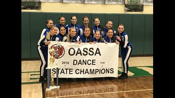 St. Ursula Academy Dance Team win 2 state competitions