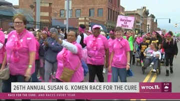 Race for the Cure - Survivor Parade takes to the street