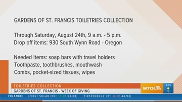 Gardens of St. Francis Week of Giving