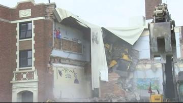 Rossford Glenwood Elementary school demolition starts