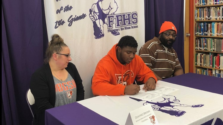 fremont ross signing day