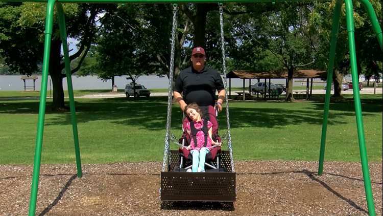 new arrivals f8050 8d0a0 Rossford installs handicap accessible swing | wtol.com