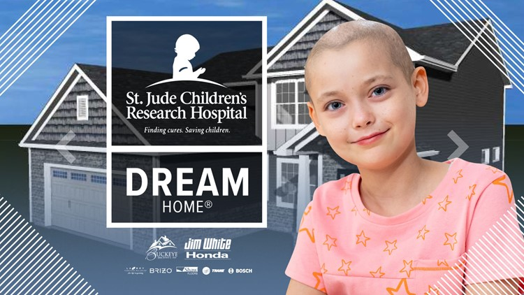FEWER THAN 1,500 TICKETS REMAIN! Reserve your tickets NOW for a chance to win the St. Jude Dream Home