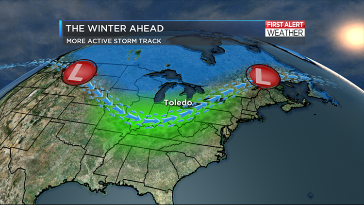 Upcoming winter weather outlook | wtol com