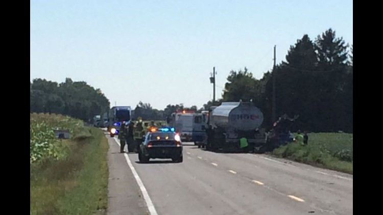 Fatal accident on US-6 near BG Wind Farms in Wood County | wtol com