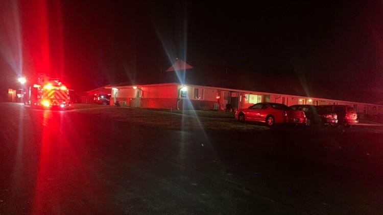 Apartment fire sends one person to the hospital