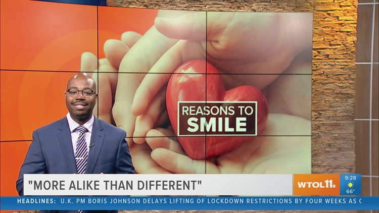 Reason to Smile: 'More Alike Than Different'