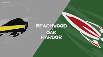 Oak Harbor wins big over Beachwood, 41-7
