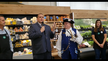 Toledo mayor, Town Crier join in opening day celebrations for Whole Foods